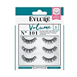 Eylure Strip False Lashes No.101 (Volume) Multipack Pack Of 3