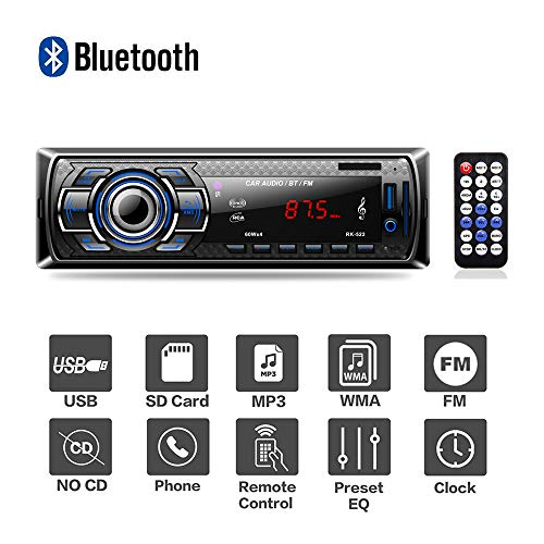 bedee Autoradio Bluetooth, Radio de Voiture Audio...