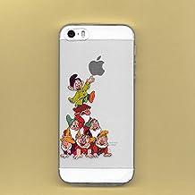 Nuevas siete enanitos transparente suave Disney para Apple iphone 5/5S 5C 6/6S y 6 Plus/6S Plus * oferta especial * consultar, plástico, 7 DWARFS, Apple iPhone 6