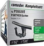 Rameder Komplettsatz, Anhängerkupplung starr + 13pol Elektrik für Peugeot Partner Kasten (131677-06739-5)