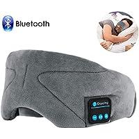 Preisvergleich für Bluetooth Schlafmaske,ink-topoint Augenmaske mit Bluetooth 4.2 Hifi Kopfhörer Schlafbrille Musik Headset Nachtmaske...