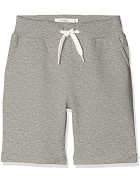 NAME IT Nmmvain Swe Long Shorts UNB D, Pantalones Cortos para Niños