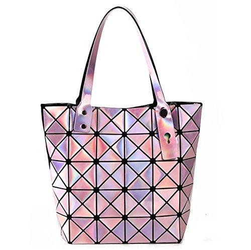 GBT Neue Gitter-Beutel-Handtasche Pink