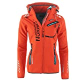 Geographical Norway Damen Softshell Funktions Outdoor Regen Jacke Spor