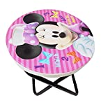 #5: Majik Kid Study Table, Folding Table for Multipurpose Use, Study Table for Kids Cartoon Printed for Girls, 150 Gram, Pink, Pack of 1