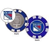 New York Rangers Poker Chip Golf Ball Marker