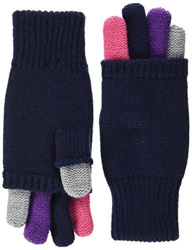 maximo Mädchen Handschuhe Fingerhandschuhe, Mehrfarbig (Navy/Multicolor 4899), 5