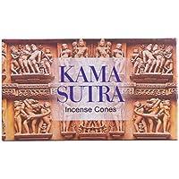 Räucherkegel 10 Kamasutra Incense Cones Räucherkerzen mit Halter Aroma Duft preisvergleich bei billige-tabletten.eu
