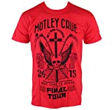 Rocks-off Herren T-Shirt Mötley Crüe - Final Tour Tattoo MOTTEE15MR M
