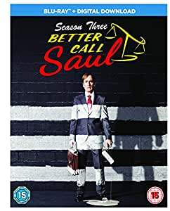 Better Call Saul: Season 3 [Blu-ray] [2017] [Region Free]