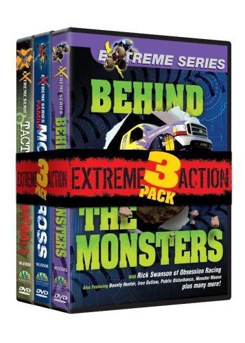 Extreme Action 3 Pack (Paintball/Motocross/Monster Trucks) -