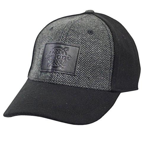 Baseballkappe, Keltisches Design, Schwarz ()