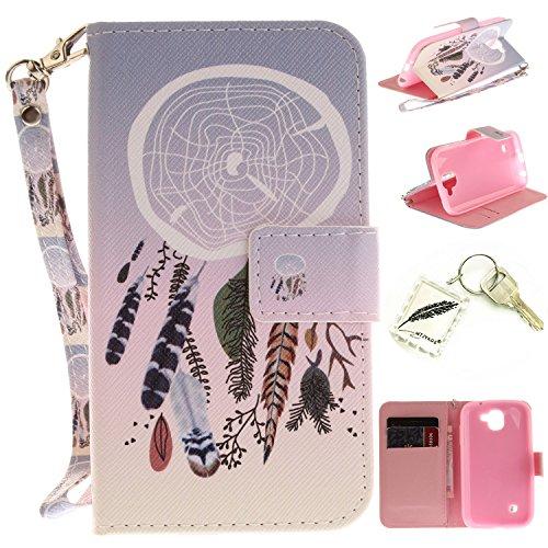 Preisvergleich Produktbild Silikonsoftshell PU Hülle für LG K3 (2017) (4.5 Zoll) Tasche Schutz Hülle Case Cover Etui Strass Schutz schutzhülle Bumper Schale Silicone case+Exquisite key chain X1#KE (1)