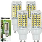 MENGS® 4 Stück GU10 LED Lampe 9W AC 220-240V Warmweiß 3000K 69x5050 SMD