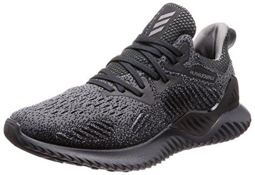 adidas Alphabounce Beyond, Chaussures de Running Compétition Mixte Adulte, Noir/Noir/Blanc