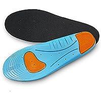 Aodoor Sport Soletta, Solette Ammortizzanti, Solette Traspiranti, Solette ortopediche Sole Control Sprint Sports per la corsa L 30.5cm (39-46 EU)