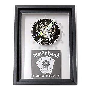 MOTÖRHEAD - Aces Up My Sleeve: GERAHMTE CD-WANDUHR/Exklusives Design