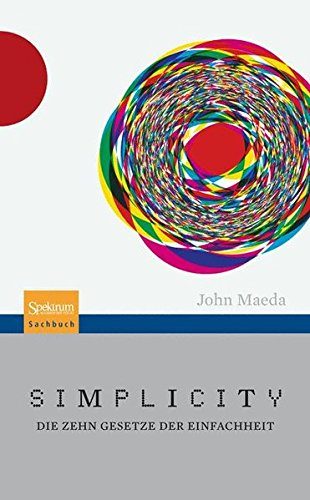 Simplicity: Die zehn Gesetze der Einfachheit Buch-Cover