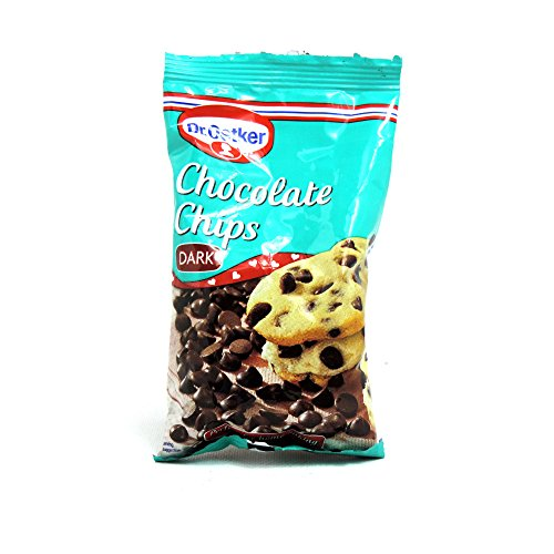 Dr. Oetker - Chocolate & Inclusions - Chips & Inclusions - Dark Chocolate Chips - 100g (Case of 9)