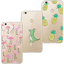 coque huawei p8 lite 2016 flamant rose