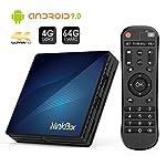 Ninkbox-Android-TV-Box-de-Version-Android-90-4G64G-TV-Box-de-Bluetooth-40-N1-Max-RK3318-Quad-Core-64bit-Cortex-A53-USB-30-Box-Android-TV-LAN100M-Wi-FI-24G5G-TV-Box-4K-Android-TV