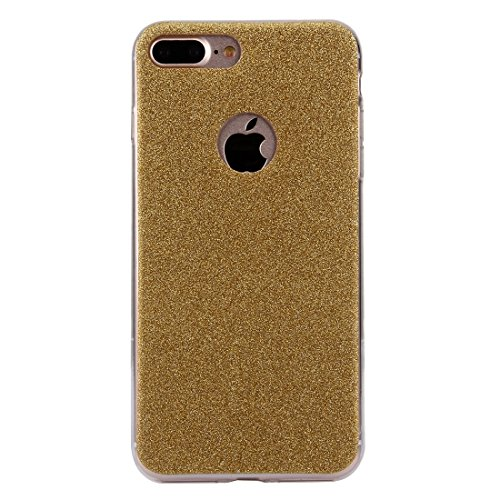 BING Für IPhone 7 Plus Glitter Powder Soft TPU Schutzhülle BING ( Color : Black ) Gold
