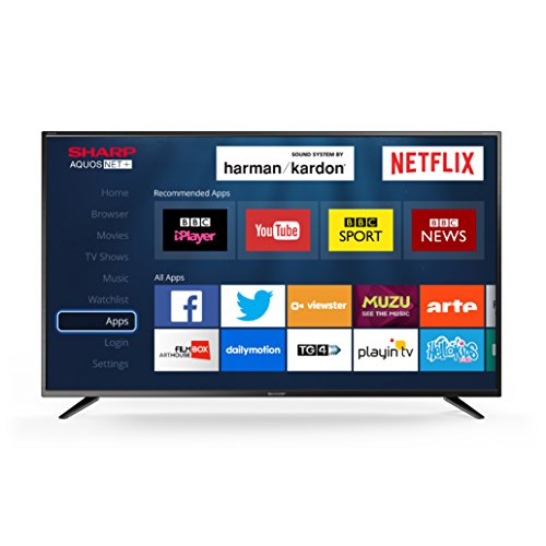 Sharp LC-40CFG6021K 40-Inch LED Smart Full HD TV with Freeview HD