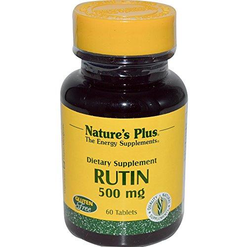 Natures et comprimés de 500 MG de RUTINE 60