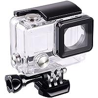 Boîtier étanche pour Gopro Hero 4 Hero 3+ Hero3par Suptig - Pour caméra tout-terrain, pour pouvoir l'utiliser sous l'eau -Étanche jusqu'à 45m