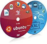 Ubuntu 18.04.1 GNOME and Kali Linux 2018.3a GNOME 64 Bit Live Bootable DVD