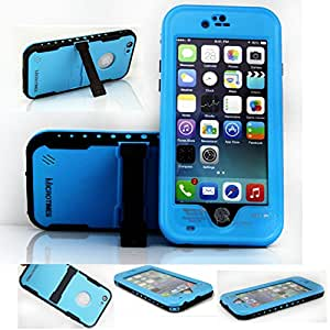 """For iphone 6 waterproof cases ,Newest microtimes Waterproof Dirtproof Snowproof Shockproof with a kickstand case Cover for For iphone 6 4.7"""" (blue)"""