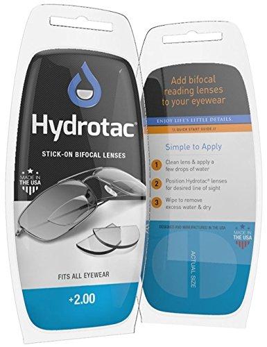 Leselinsen Hydrotac/Geeigneit für Sonnenbrillen und Spobrillen LH (+2.00)