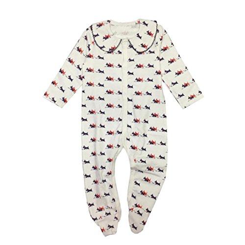 Neugeboren Baby Jungen Mädchen Ein Stück Drucken Spielanzug Overall Outfits Kleider_Hirolan (80cm, (Des Sports Den Gute Kostüme Tag Für Ideen)