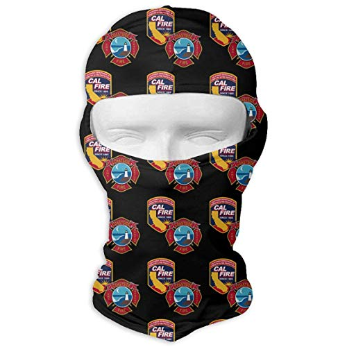 Vidmkeo Coastside Fire Department and Cal FIRE Duel Logo Unisex Face Mask Dust Sun UV Protection Sun Mask Fashion11