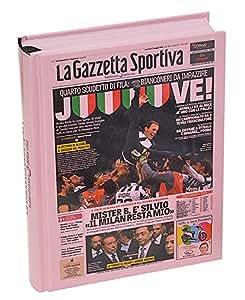Fiori Paolo Gazzetta dello Sport Set per la Scuola, Rosa/Bianco/Nero, 17 cm