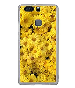 PrintVisa Designer Back Case Cover for Huawei P9 Plus (Bunch Of Lilly Sun Flower Beautiful Gerbera )