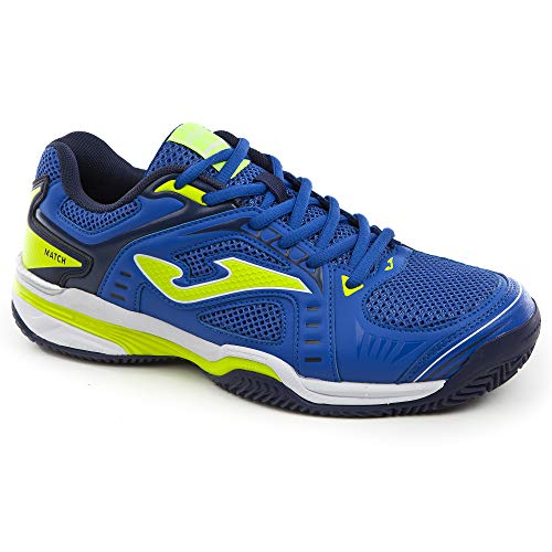 Joma T.Match Scarpe Tennis Uomo Clay - Men's Tennis Shoes (44.5, Blu)