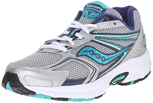 Saucony Women's Cohesion 8 Running Shoe Silber