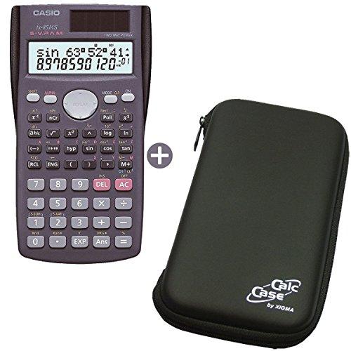 Casio FX-85 MS mit Original CalcCase Schutztasche