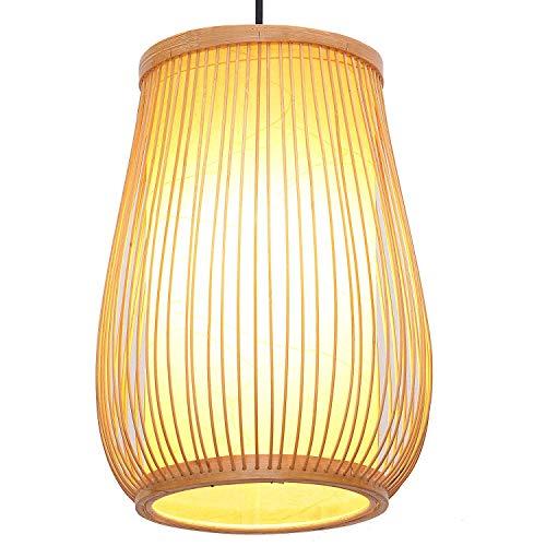 Xiao Yun ☞ South Asian Bambus Vase Esszimmer Decke Pendelleuchte Janpanese Korridor Restaurant Pendelleuchten Land Rustikale Flur Hängelampen ☜