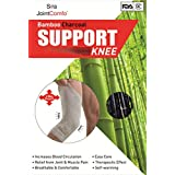 Sira Bamboo Charcoal Knee Sleeves, Pain Relief, Swelling, Muscles & Joint Pain, Running & Jogging Sleeves, Graduate...