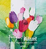 Blütezeit 2015: Postkartenkalender mit Aufhänger und Aufsteller