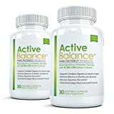 Active Balance (2 bottles) - Professional Grade Probiotic Supplement Containing 50 billion CFU