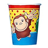Party America Curious George Paper Cups, 8Ct