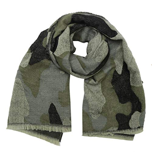 ASHOP Señoras bufandas calientes chal grueso cálido
