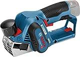 Bosch Professional Akku Hobel GHO 12V-20 (ohne Akku, Hobelmesser, Schraubenschlüssel, Karton, 12 Volt, Schnitttiefe max.: 2,0 mm, Hobelbreite max.: 56 mm, Falztiefe: 17 mm)