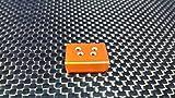 Team Losi Micro T Aggiornamento Parti Aluminium Front Skid Plate - 1Pc Orange