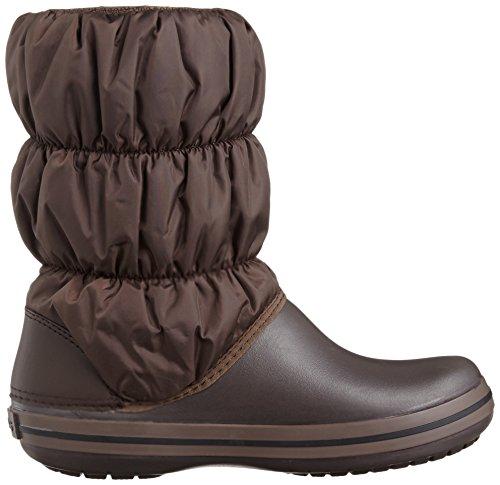 crocs Winter Puff Boot Women Damen Schneestiefel Braun (Espresso/Espresso)