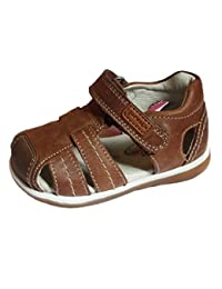 Huhua Sandals For Boys, Sandali bambini, Marrone (Brown), 6-12 Months