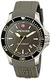 Wenger Herren-Armbanduhr XL SEAFORCE Analog Quarz Kautschuk 01.0641.110